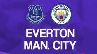 Premier League - Everton Vs Manchester City (Bola.com/Adreanus Titus)