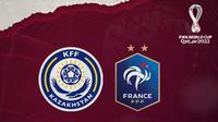 Kualifikasi Piala Dunia 2022: Kazakhstan Vs Prancis. (Bola.com/Dody Iryawan)
