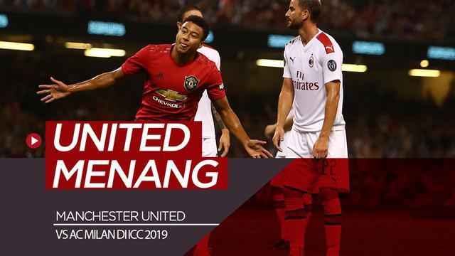 Berita video highlight kemenangan Manchester United atas AC Milan di ICC 2019 lewat adu penalti, Sabtu (3/8/2019).