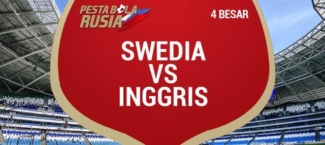 Timna Inggris terus menjaga mimpi menjadi juara Piala Dunia 2018. Peluang terus dijaga setelah menaklukkan Swedia dengan skor 0-2 pada perempat final di Samara Arena.