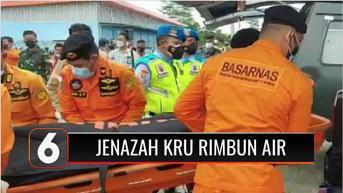VIDEO: 3 Jenazah Kru Pesawat Rimbun Air Tiba di Timika untuk Divisum