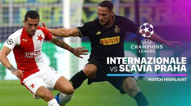 Berita video highlights Liga Champions 2019-2020 antara Inter Milan melawan Slavia Praha yang berakhir dengan skor 1-1, Selasa (17/9/2019).