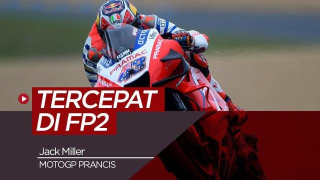 Berita Video hasil FP2 MotoGP Prancis, Jack Miller catat waktu tercepat dan Maverick Vinales di urutan kedua