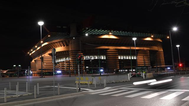 Potret Sepinya Stadion San Siro di Milan