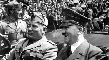 Hitler dan Mussolini