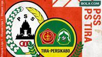 Shopee Liga 1 2020: PSS Sleman vs PS Tira. (Bola.com/Dody Iryawan)