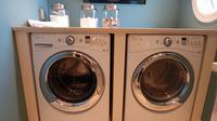 Ilustrasi mesin cuci. (dok. Erika Wittlieb/Pixabay)