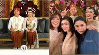 Momen pernikahan Ashilla Zee. (YouTube/Viding Co/Instagram/ifyalyssa)