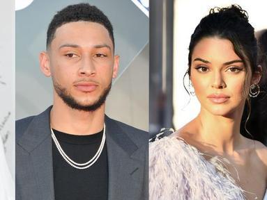 Pada 5 Juli lalu, Ben Simmons dan Kendall Jenner berkencan d Delilah dan tak sengaja bertemu dengan Tinashe. (Getty Images - Elle)