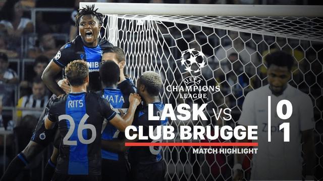 Berita video highlights playoffs Liga Champions 2019-2020 antara LASK Linz melawan Club Brugge yang berakhir dengan skor 0-1, Selasa (20/8/2019).