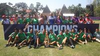 Putri Mataram Juara Piala Menpora U-17 Putri Regional DIY (Switzy/Liputan6.com)