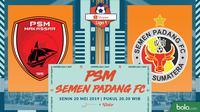 Shopee Liga 1 - PSM Makassar Vs Semen Padang FC (Bola.com/Adreanus Titus)