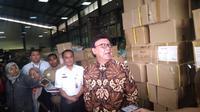 Mendagri Tjahjo Kumolo menyambangi gudang e-KTP di Bogor. (Merdeka.com/Muhammad Genantan Saputra)
