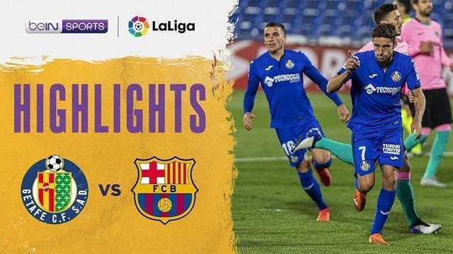 Berita video highlights kekalahan Barcelona dari Getafe 0-1 pada pekan keenam Liga Spanyol 2020/2021, Minggu (18/10/2020) dinihari WIB.