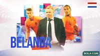 Piala Eropa 2020 - Profil Tim Belanda (Bola.com/Adreanus Titus)