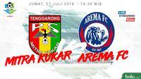 Liga 1 2018 Mitra Kukar Vs Arema FC (Bola.com/Adreanus Titus)