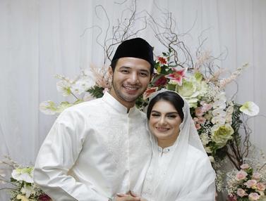 FOTO: Pernikahan Ammar Zoni dan Irish Bella Penuh Bahagia