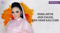 Krisdayanti memberanikan diri terjun sebagai caleg pada pemilu legislatif 2019. (DI: Muhammad Iqbal Nurfajri/Bintang.com)