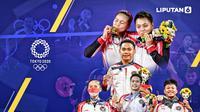 Banner Infografis Bonus Atlet Indonesia di Olimpiade Tokyo 2020. (Sumber Foto: Dok. AP Photo dan AFP)