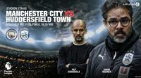 Manchester City vs Huddersfield Town (Liputan6.com/Abdillah)