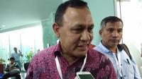 Kapolda Sumatera Selatan yang juga mantan Deputi Penindakan KPK Irjen Firli mengikuti uji kompetensi capim KPK, Kamis (18/7/2019). (Liputan6.com/ Ady Anugrahadi)