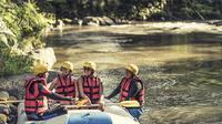 Four Seasons meluncurkan proses kedatangan pertama di Bali dengan rafting di sungai.
