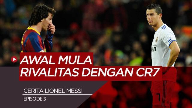 Berita motion grafis Kisah Lionel Messi Episode 3, Bersinar di Barcelona dan Awal Mula Rivalitas Dengan Cristiano Ronaldo