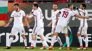 AC Milan Berjaya di Markas Ludogorets