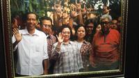 Momen kebersamaan Megawati dengan Taufiq Kiemas mewarnai HUT PDIP. (Liputan6.com/Putu Merta Surya Putra)