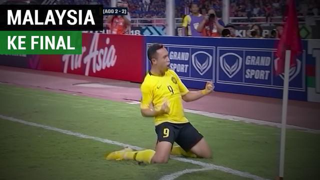 Berita video highlights semifinal leg II Piala AFF 2018 antara Thailand melawan Malaysia yang berakhir dengan skor 2-2, Rabu (5/12/2018).