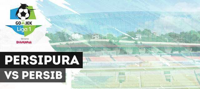 Gol-gol yang tercipta pada laga lanjutan Gojek Liga 1 2018 bersama Bukalapak antara Persipura Jayapura melawan Persib Bandung, Senin (15/10/2018).