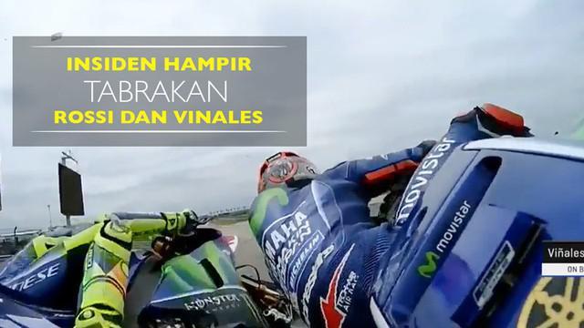 Berita video insiden Maverick Vinales hampir bertabrakan dengan Valentino Rossi menjelang balapan MotoGP Austin. Insiden ini terjadi di sesi kualifikasi kedua pada Sabtu (22/4/2017). Seperti apa insiden yang terjadi?