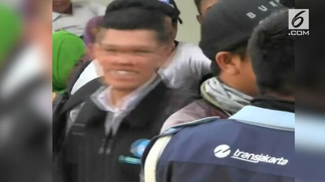 Karyawan kontrak PT Transjakarta direncanakan kembali berdemonstrasi di kantor pusat, Cawang, Jakarta Timur.