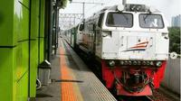 Kereta Api Pangandaran dari stasiun Gambir-Banjar-Bandung. (dok.Instagram @keretapiinside/https://www.instagram.com/p/BrXUTtqFeoi/Henry