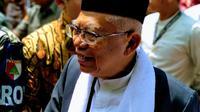 Calon Wakil Presiden KH Ma'ruf Amin. (Liputan6.com/Putu Merta Surya Putra)