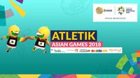 Atletik Asian Games 2018 (Bola.com/Adreanus Titus)