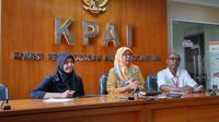 Dalam sesi konferensi pers di Kantor KPAI, Rabu, 11 Juli 2018, susu kental manis lebih tepat disebut larutan gula beraroma susu. (Liputan6.com/Fitri Haryanti Harsono)