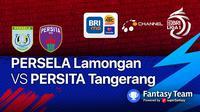 Persela Lamongan vs Persita Tangerang Jumat (17/9/2021)