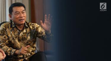 Wawancara Kepala Staf Presiden Moeldoko Dengan KLY
