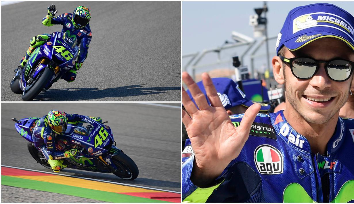 Valentino Rossi resmi berganti tim dari Monster Energy Yamaha ke Petronas Yamaha SRT. Pembalap asal Italia itu dikontrak dengan durasi satu tahun.