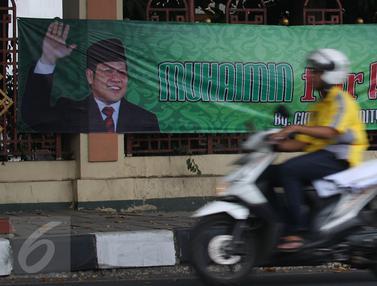 20150912-Spanduk Muhaimin for President Nempel di Pagar Masjid Sunda Kelapa-Jakarta
