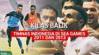 Kilas Balik Timnas Indonesia di SEA Games 2011 dan 2013 (Bola.com/Adreanus Titus)