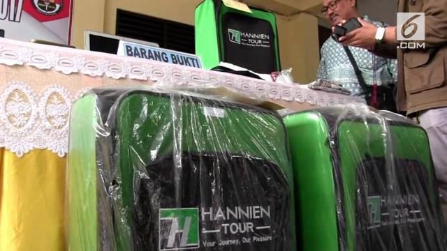 Penipuan biro umrah Hannien di Solo mencapai 4.126 orang.