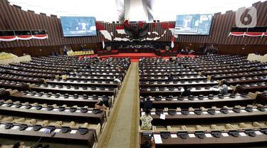 DPR Gelar Rapat Paripurna Bahas Laporan BPK RI