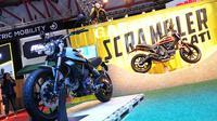 Ducati Scrambler terjual sebanyak 41 unit di IIMS 2016.