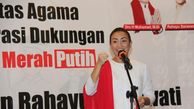 Bakal calon wakil walikota Tangsel Rahayu Saraswati (Pramita/Liputan6.com)