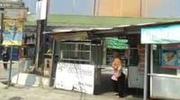 Puting beliung menerjang Kota Bogor Senin siang.
