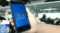 Halaman Muka Aplikasi Paspor Online. Liputan6.com/Yuslianson