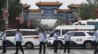 Banner Infografis Beijing Lockdown Sebagian, Gelombang II Covid-19 Mengancam? (Sumber Foto: AFP)