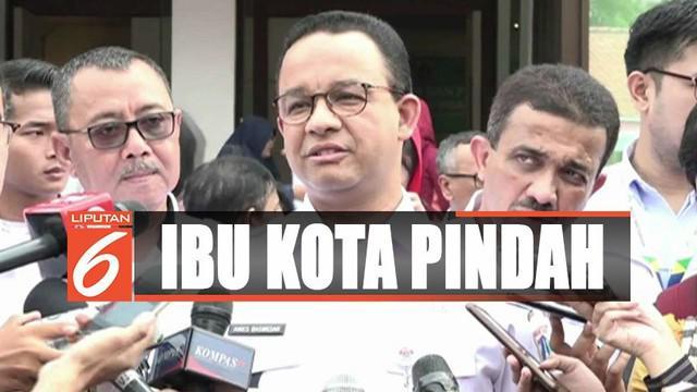 Gubenur DKI Jakarta Anies Baswedan menyatakan masih menunggu koordinasi dari pemerintah pusat.